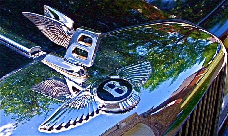 1980s Bentley Mulsanne in Pflugerville, Hood Ornament