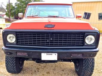 1969 Suburban for Sale, Austin TX front