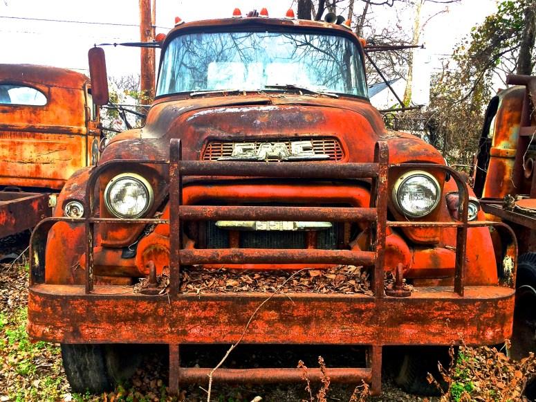 50s GMC 550 truck in Austin Texas