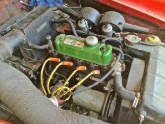 1962 MG Midget Mk 1 engine