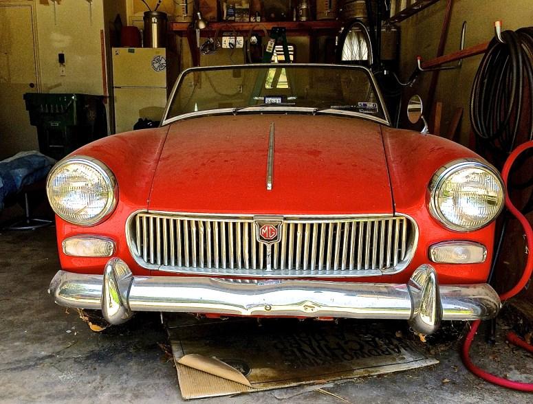 1962 MG Midget Mk 1 front detail