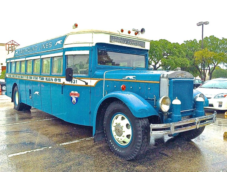 1931 Mack Greyhound Bus in Austin TX