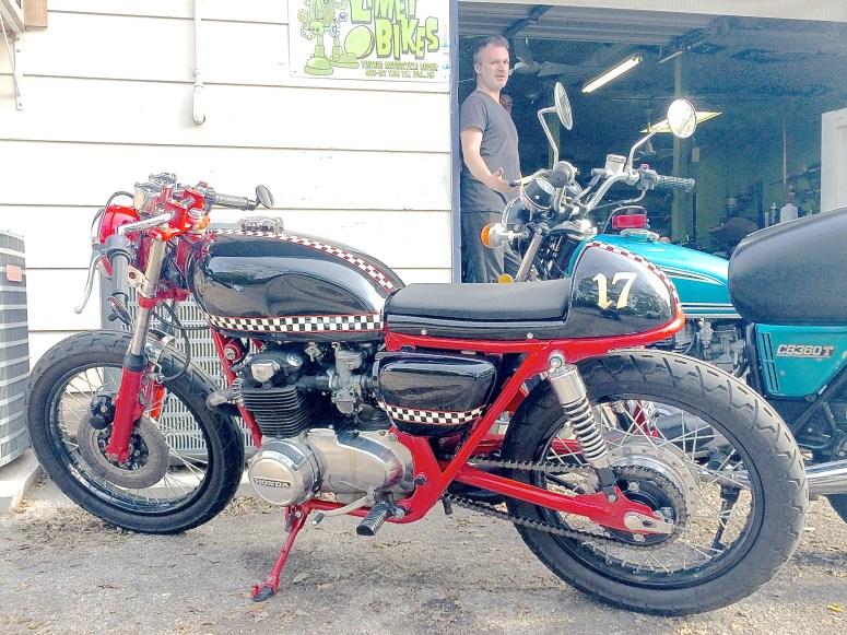 Vintage Honda Cafe Racer in Austin TX