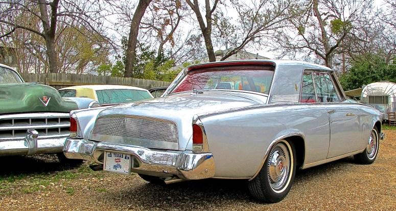1962 Studebaker GT Hawk, Austin TX rear