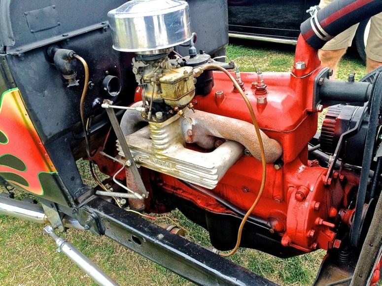 Ford Model A Hotrod in Austin TX engine