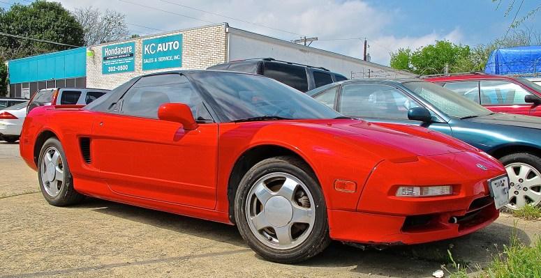 Acura NSX in Austin TX front