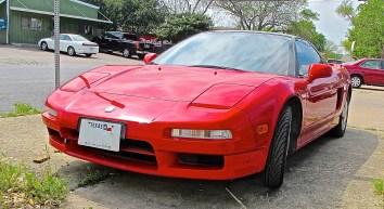 Acura NSX in N. Austin TX front