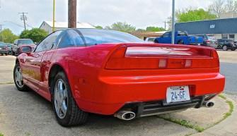 Acura NSX in N. Austin TX rear