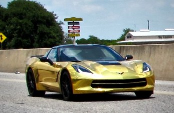 Gold 2015 Corvette Stingray in Austin TX