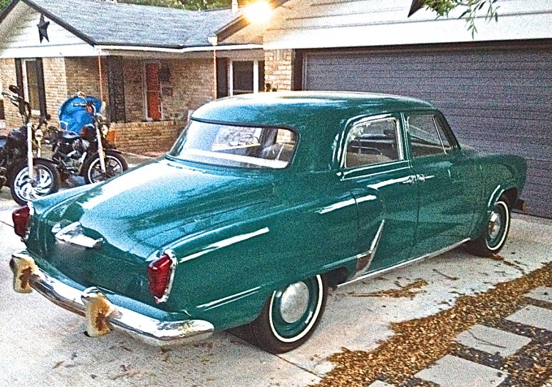 1951 Studebaker in N. Austin Texas