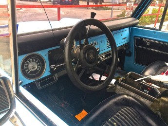 Ford Bronco in S. Austin TX interior
