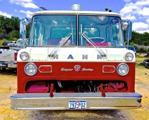 Ford Fire Truck in Austin Texas