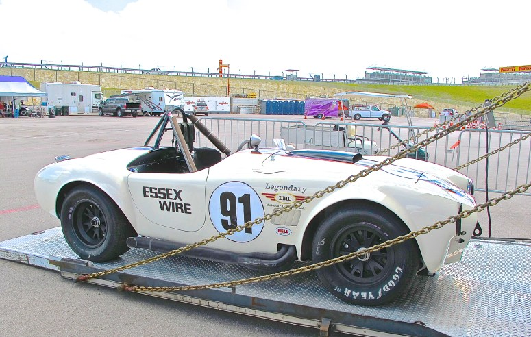Vintage Cobra Race Car at COTA in Austin TX