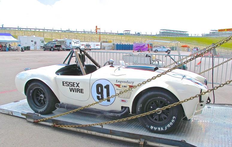 Vintage Cobra Race Car at COTA in Austin TX