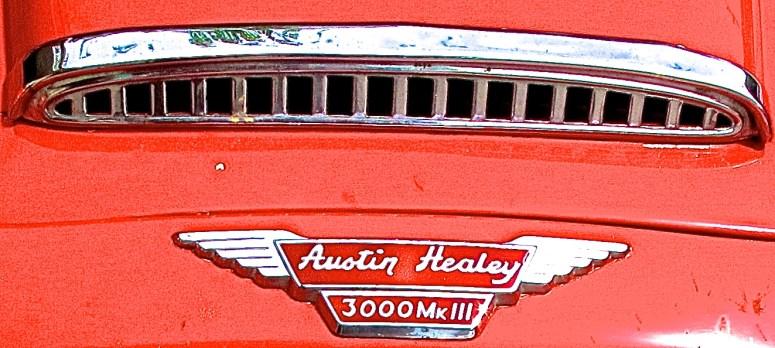 Austin Healey 3000 Mk III in Ausitn TX front detail