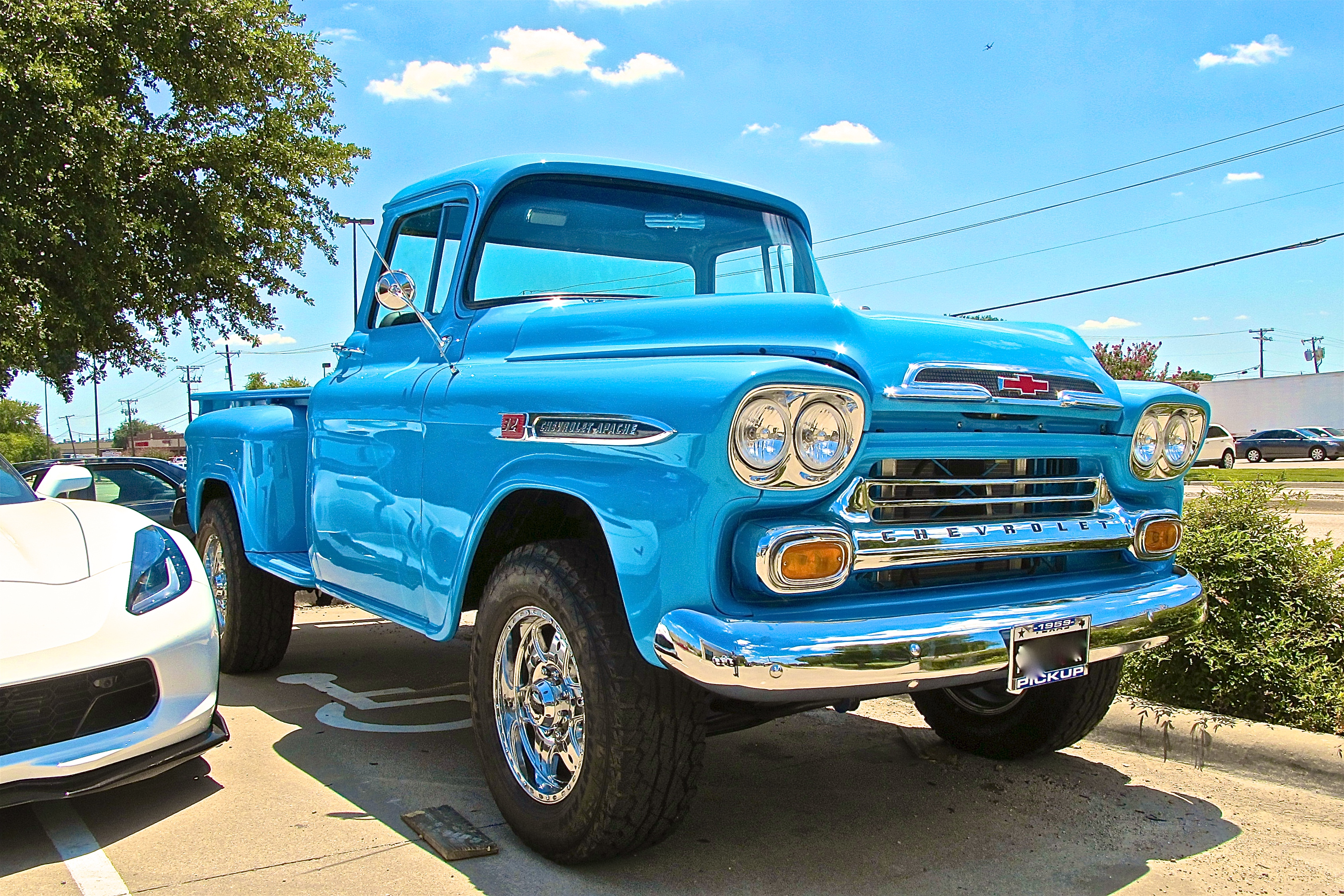 1959 Chevrolet Apache 32 In Addison Tx Atx Car Pictures