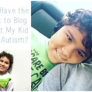 Why I Blog About My Autistic Kid