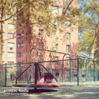Alone at the Playground