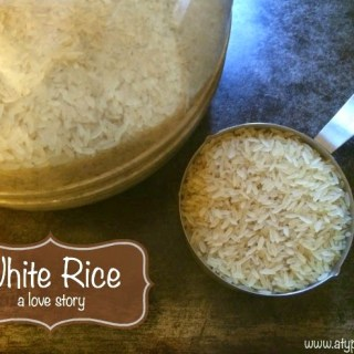 White Rice: A Staple of My Childhood