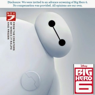 Big Hero 6: A Family Friendly Film with Action, Humor & Charm! {Sensory Friendly Screening 11/15}