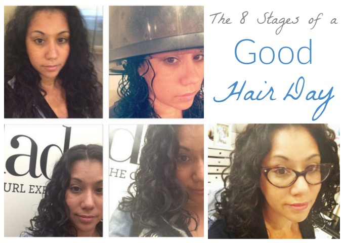 Stages of a Good Hair Day