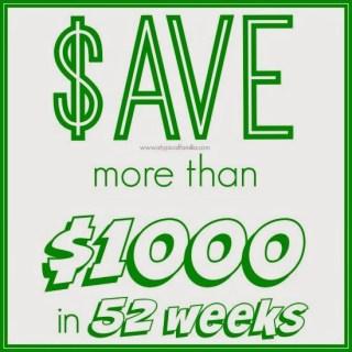 We're Doing The 52 Week Savings Plan Money Challenge