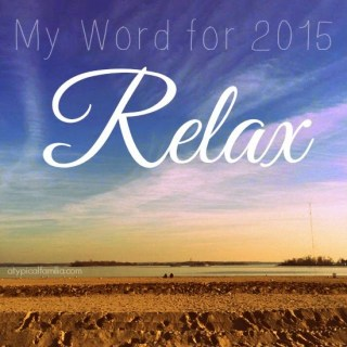 My Only Goal For This Year: My Word For 2015