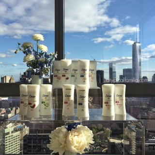 The View from the SoHi Room at The Trump Soho & Dove's #LoveAtFirstSwipe