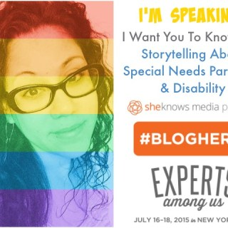 Special Needs Parenting & Disability: BlogHer 15