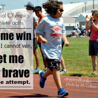 The Special Olympics Gave My Son The Opportunity To Be Brave