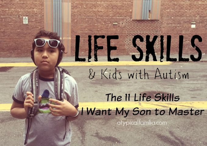 Life Skills and Kids with Autism