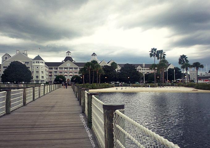 Disneys Yacht Club Resort View
