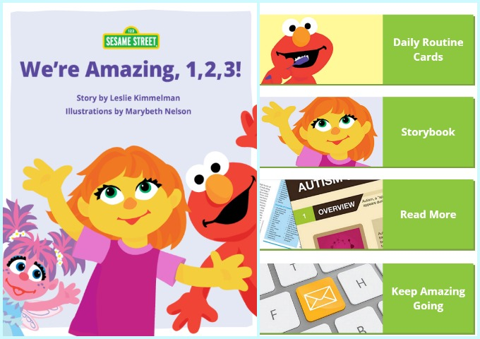 Sesame Street Autism Amazing Family Resource App