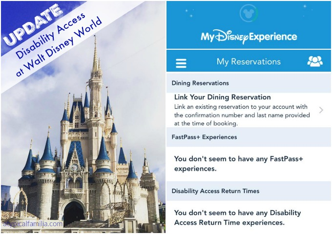 Disability Access Service at Walt Disney World: UPDATE (2015)