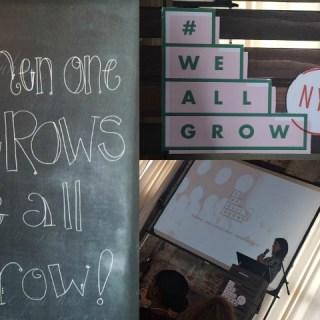 Highlights & Takeaways from #WeAllGrowNYC [in Tweets]