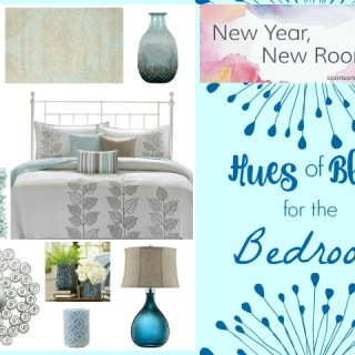 New Year, New Room: Shades of Blue for the Bedroom