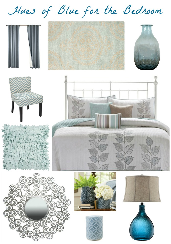Blue Bedroom Inspiration Board Atypical Familia