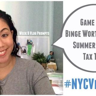 Vlog Prompts: Week 9 #NYCVloggers Challenge