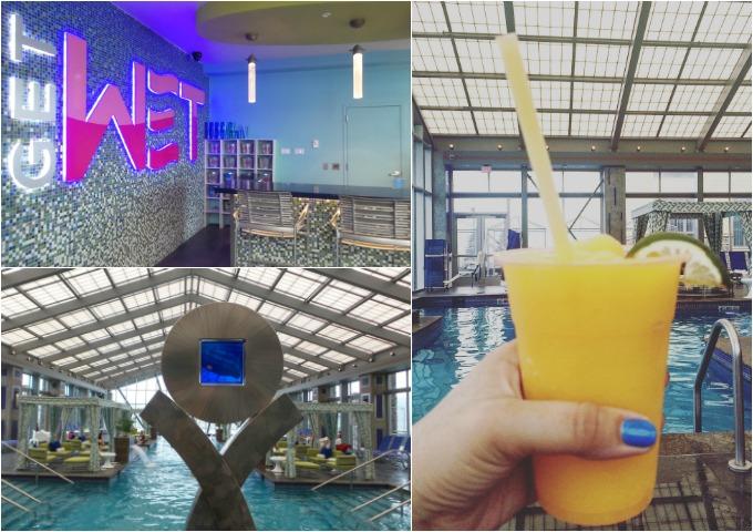 Get Wet Bar Pool at Mount Airy Casino Resort