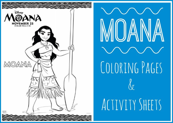 Free Colouring Pages Moana : Moana coloring pages & activity sheets free printables