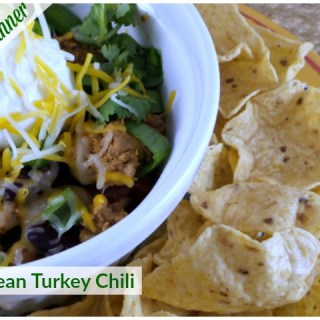 Sunday Dinner: Two-Bean Turkey Chili