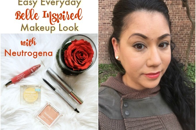 Belle Inspired Makeup Look with Neutrogena