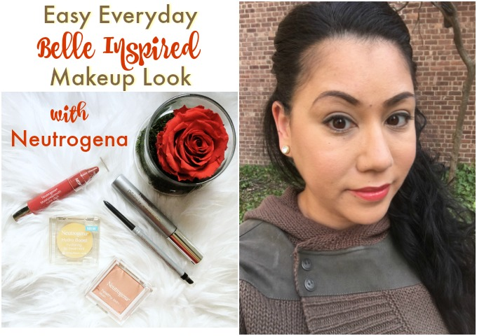 Belle Inspired Makeup Look with Neutrogena