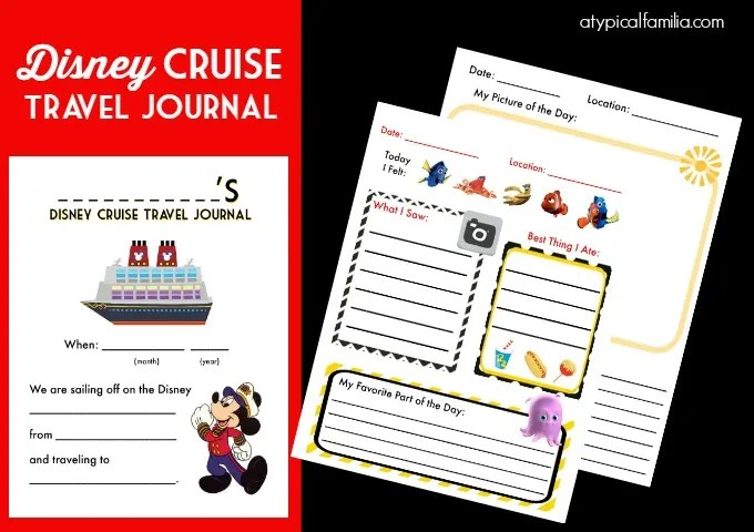 travel journal for kids pdf