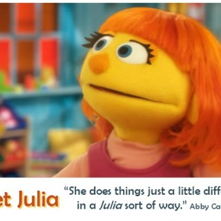 Sesame Street Welcomes a NEW Muppet! Julia – a 4-year-old with Autism