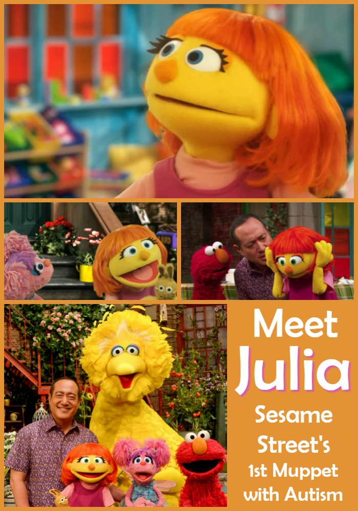 Sesame Street Introduces a Muppet with Autism
