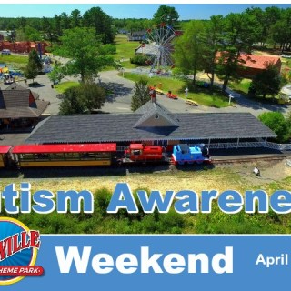 Autism Awareness Weekend at Edaville Family Theme Park
