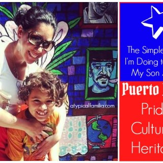Teaching My Son About Puerto Rican Pride