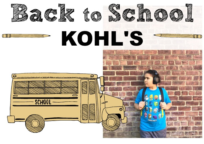 Back to School Made Easy at Kohls via Atypical Familia by Lisa Quinones Fontanez