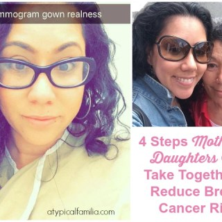 How Mothers & Daughters Can Reduce Breast Cancer Risk